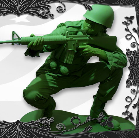 Toy Soldier Costume Living Statue